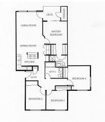 4 bedroom floor plans home planning ideas 2017
