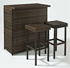 Resin Wicker Patio Furniture Sets - what u0027s the best outdoor bar set for your pool or patio outdoor bar