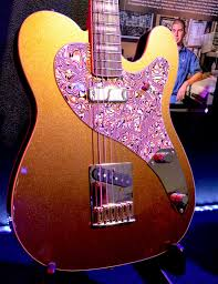 Fender Custom Shop Masterpieces   Fender Tone Fender Maple Top Blue         Precision Bass by Greg Fessler