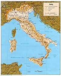 Como Italy Map by