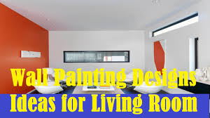 wall painting designs ideas for living room youtube