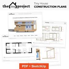 tiny house on wheels floor plans blueprint for construction