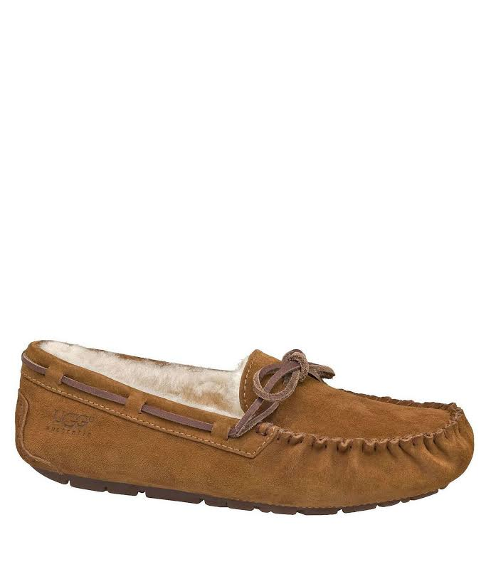 UGG Australia Dakota Chestnut Moccasin Slippers 5612-CHE