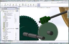 solidworks help tutorial how to apply a mate to a worm gear and
