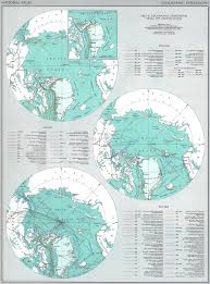 Map Of The Usa by Of The Usa Arctic Expeditions 1850 1968