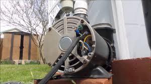 replacing pool pump u0027s power cord youtube