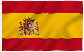 halloween garden flags amazon com new 3x5 national spanish flag of spain country flags