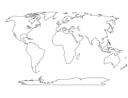 Diagram Of The World Map by National Geographic Blank Outline Maps Diagram Free Printable