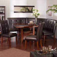 mahogany dining table and 6 chairs sale dark brown nook dining
