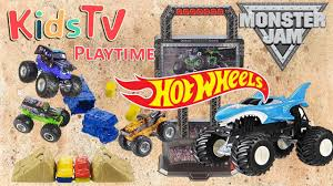 monster truck show missouri gideon and logan put 6 monster trucks to the test on the hotwheels
