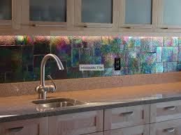 oceanside glass tile raku iridescent kitchen backsplash kitchen