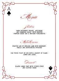 English Invitation Card Las Vegas Wedding Invitations Menu Elegant Playing Card