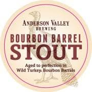 Anderson Valley Wild Turkey Bourbon Barrel Stout now available on