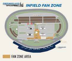 Phoenix International Raceway Map by Fan Zone Pit Pass Map Chicagoland Speedway