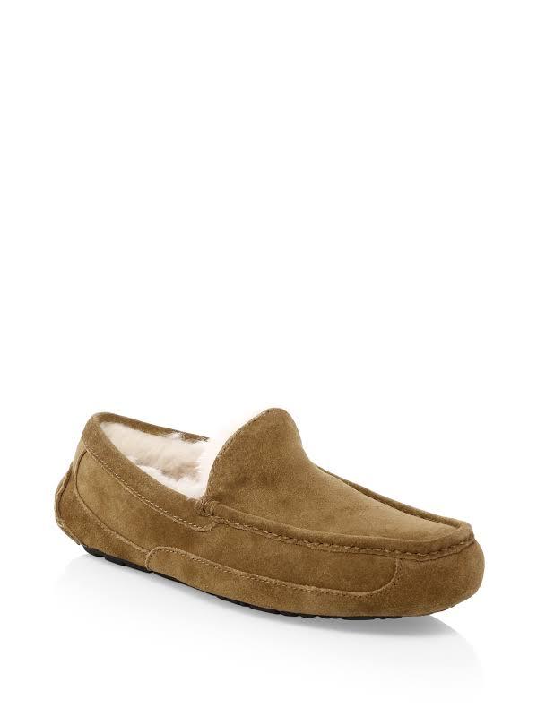 UGG Australia Ascot Moccasin Chestnut Slippers 1101110-CHE
