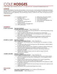 how to write a teacher resume teachers aide or assistant resume sample or cv example sample best assistant teacher resume example livecareer sample resume for teacher assistant