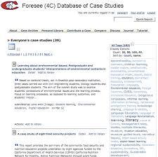 Conceptual framework case studies FC