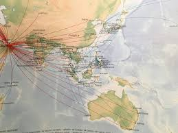 Carrier Route Maps by The Timetablist January 2017