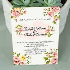 Reunion Cards Invitation Pink Wedding Invitations Elegant Wedding Invites Part 3