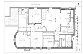 Floor Plan House 3 Bedroom Alternate Basement Floor Plan 1st Level 3 Bedroom House Plan With
