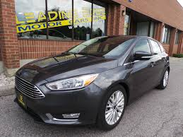 used ford focus for sale toronto on cargurus