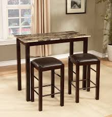 Kitchen Table Bar Style Roundhill Furniture