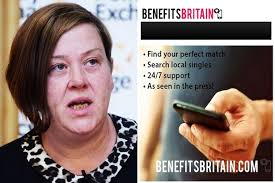 Looking for love on the dole  New dating site pairs up singles on     White Dee and Benefits Britain