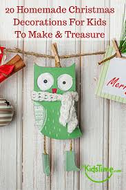 Homemade Christmas Decorations by Homemade Christmas Decorations For Kids To Make U0026 Treasure