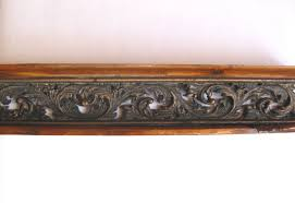 kitchen cabinet top moulding galley railing trim pewter copper