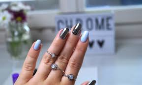 chrome mirror nails without gel u2013 a snippet of life