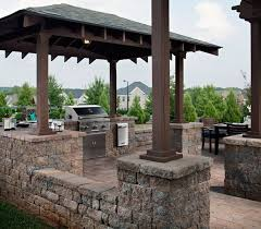 Ideas For Outdoor Kitchen Outdoor Kitchens And Lighting Cutting Edge Hardscapes