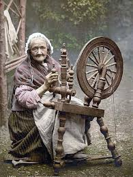 Old Boots and Spinning