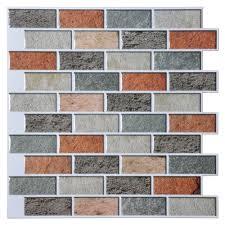 Wall Tiles Kitchen Backsplash by Self Adhesive Wall Tiles Self Adhesive Backsplash Wall Tiles