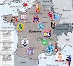 French LIGUE 1, 2004-05 through 2007-08 seasons. « billsportsmaps.