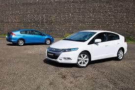 insight vti l v toyota prius hybrid car comparison