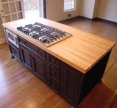 furniture interesting butcher block countertops with oven and