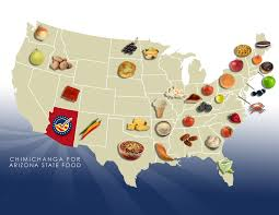 Arizona Us Map by Ideas Collide Supports Chimi For Arizona State Food Ideas