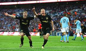 Pertandingan Manchester City vs Wigan Athletic Final FA Cup 2013