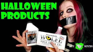 strangest halloween makeup products video you will ever see ode