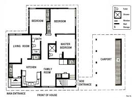small two bedroom house plans 2 bedroom house simple plan one