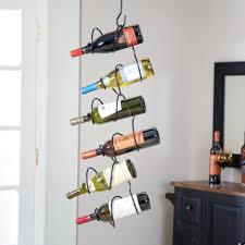Wine Rack Kitchen Island by Decor Extravagant Wall Wine Rack For Interesting Home Accessories