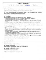 Sample Resume For Nursing Unit Clerk Phlebotomist Cover Letter No