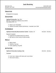 How To Write Your First Resume Without Job Experience Resume How To How To Write First