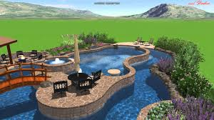 Calvary Custom Pools Lazy River Design YouTube - Backyard river design