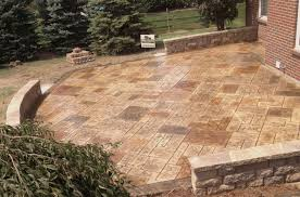 Brick Paver Patterns For Patios by Stone Texture Awesome Stamped Concrete Patio Design With Many