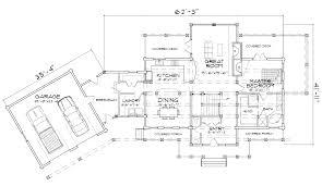 ashland hybrid log and timber home floor plan ashland main floor plan