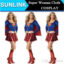 Supergirl Halloween Costume 2015 Fashion Supergirl Superwomen Superman Superhero