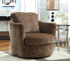 elegant leopard accent chair for interior designing home ideas