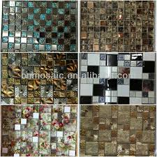 Peel And Stick Kitchen Backsplash Sample Aluminum Mosaic Tile - Peel on backsplash