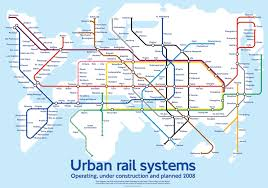 Los Angeles Light Rail Map by World Map Shows What A Hyperloop Future May Look Like Inverse